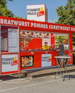 PommesPaule Verkaufsstand